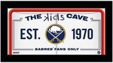 """Steiner Sports Buffalo Sabres 10"""" x 20"""" Kids Cave Sign"""