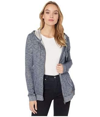 Roxy Trippin Zip Hoodie (Mood Indigo) Women's Sweatshirt