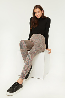 Ardene Plaid Print Leggings