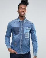 Pepe Jeans Worn Denim Shirt