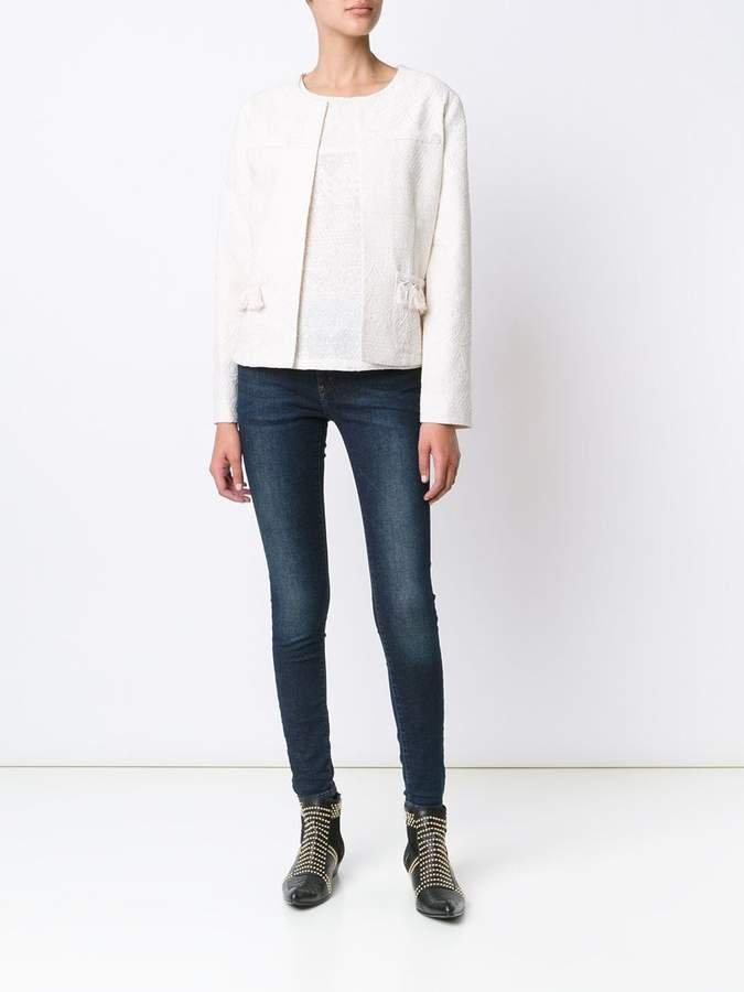 Anine Bing mid rise skinny jeans