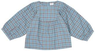 Morley Mikado checked cotton blouse