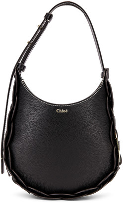 Chloé Small Darryl Hobo Shoulder Bag in Black | FWRD