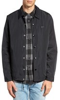 Obey Baker Back Logo Water Resistant Coaches Jacket