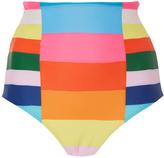 Mara Hoffman Rainbow Stripe Bikini Bottom