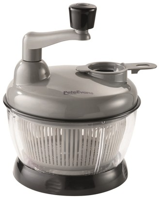 Baccarat Pete Evans 2 in 1 Manual Food Processor and Salad Spinner 1.8L