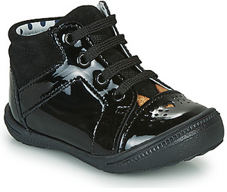Catimini CIBELLE girls's Shoes (High-top Trainers) in Black