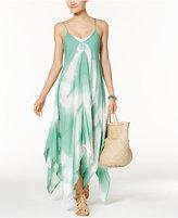 Raviya Tie-Dye Handkerchief Maxi Dress Cover-Up Women's Swimsuit