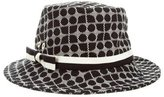 Kate Spade Bow-Accented woven Fedora