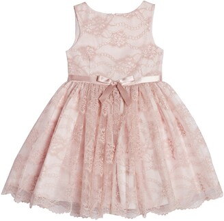 Pippa & Julie Kids' Lace Dress with Bow