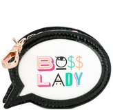 Sophia Webster 'Boss Lady' mini coin purse - women - Leather - One Size