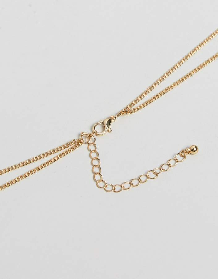 Asos Infinity Circle Gold Body Chain