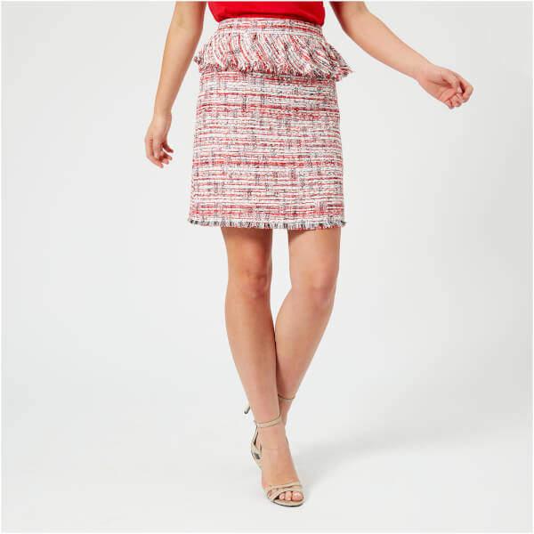 Karl Lagerfeld Women's Captain Boucle Skirt