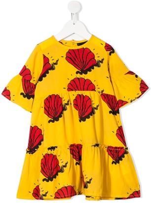 Mini Rodini Shell-Print Dress