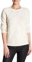 Milly 3D Stitch Wool Sweater