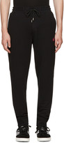 McQ by Alexander McQueen Black Swallow Badge Lounge Pants