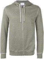 Dondup striped hoodie - men - Cotton/Linen/Flax/Polyamide - S