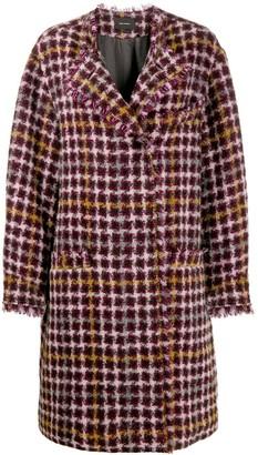 Isabel Marant oversized Zaban tweed coat