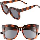 Quay Icy 58mm Square Sunglasses