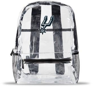 clear San Antonio Spurs Team Logo School Bag
