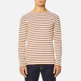 Armor Lux Men's Heritage Breton Stripe Long Sleeve Top