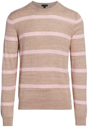Saks Fifth Avenue COLLECTION Melange Striped Sweater