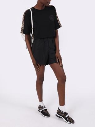 Balenciaga Running Shorts, Black