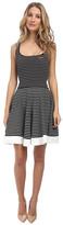 DSQUARED2 Striped Scoop Neck Dress