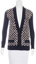 Kelly Wearstler Wool Patterned Cardigan