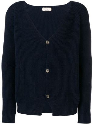 Ma Ry Ya ribbed V-neck cardigan