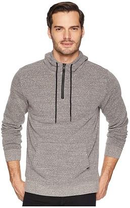 Threads 4 Thought Tri-Blend 1/4 Zip Hoodie (Heather Grey) Men's Sweatshirt