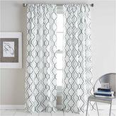 CHF Coco Rod-Pocket Curtain Panel