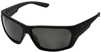 Zeal Optics Caddis (Matte Black w/ Polarized Dark Grey Lens) Polarized Fashion Sunglasses