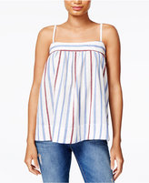 William Rast Moore Cotton Striped Top