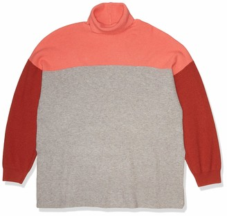 Forever 21 Women's Plus Size Colorblock Sweater