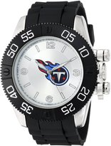 Game Time Men's NFL-BEA-TEN Beast Round Analog Watch