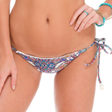 Luli Fama Crystalized SeamlessRuched Back Brazilian Bottom In Multicolor (L52302P)