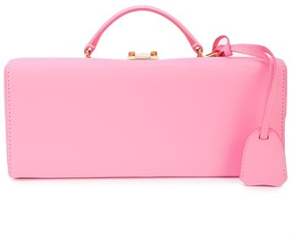 Mark Cross suitcase style clutch bag
