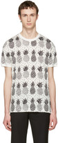 Dolce & Gabbana White Pineapple T-Shirt