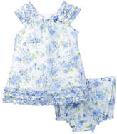 Laura Ashley Floral Dress Set (Baby Girls)
