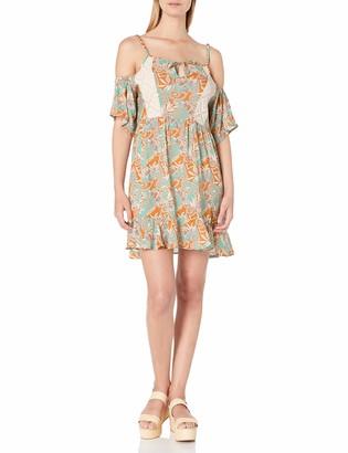 Maaji Women's Sun Garden Royal Cover-up Dress