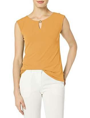 Calvin Klein Women's Sleeveless Top with Hardware