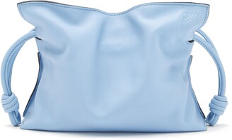Loewe Mini Flamenco Leather Clutch