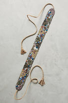 Anthropologie Ziggy Beaded Belt