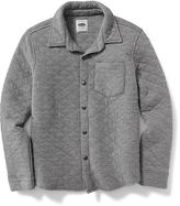 Old Navy Quilted Shirt Jacket for Boys