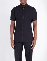 Alexander McQueen Slim-fit stretch-cotton shirt