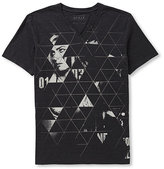 GUESS Evans Off the Grid Slit T-Shirt