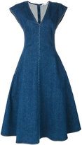 Stella McCartney Ivy Organic denim dress - women - Cotton/Spandex/Elastane - 38