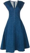 Stella McCartney Ivy Organic denim dress - women - Cotton/Spandex/Elastane - 46