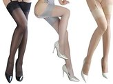 Rose Sakura 0905 ultra thin sheer sexy thigh high rib top pantyhose/stockings